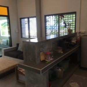 krabivillas villa titouni kitchen