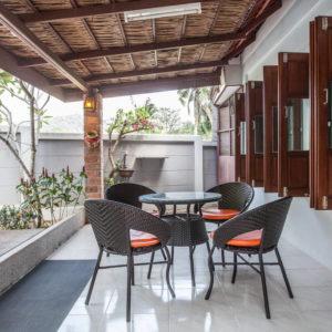 krabivillas villa utopia bungalow lezard
