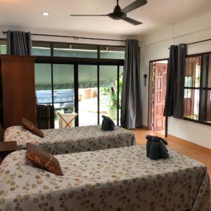 krabivillas villa utopia lezard twin room